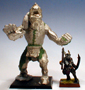 Beastmen Giant Comparison pic with Gor